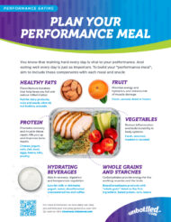 Sports Nutrition Performance Plate