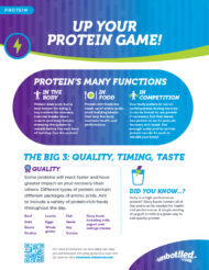 Sports Nutrition Protein