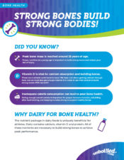 Strong Bones Build Strong Bodies