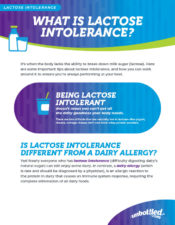 What is Lactose Intolerance